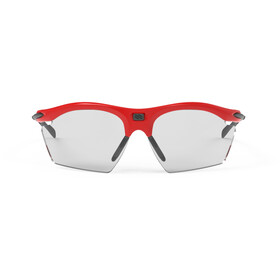 Rudy Project Rydon Slim Okulary rowerowe, fire red gloss - impactx photochromic 2 black